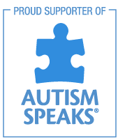 Proud Supporter of Autism Speaks Logo